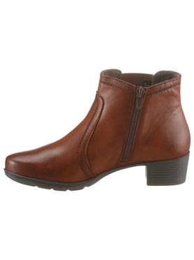 Bottines couleur chamois