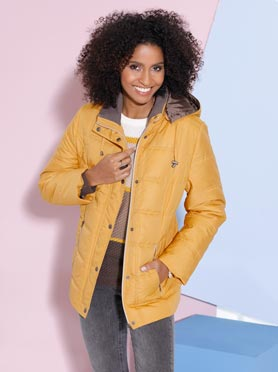 Veste jaune curry