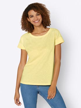 T-shirt citron
