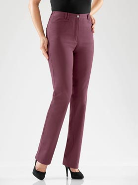 Pantalon bordeaux