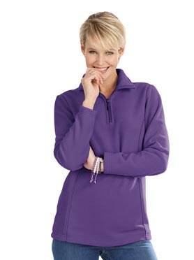 T-shirt polaire lilas