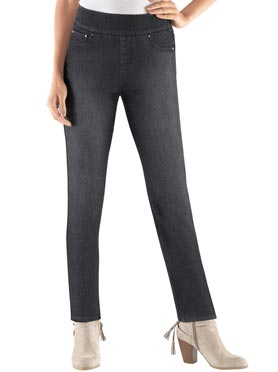 Jean confort style legging extensible