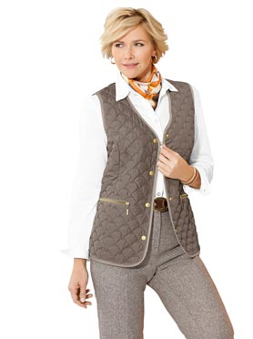 Gilet taupe