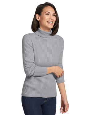 Pull gris chiné