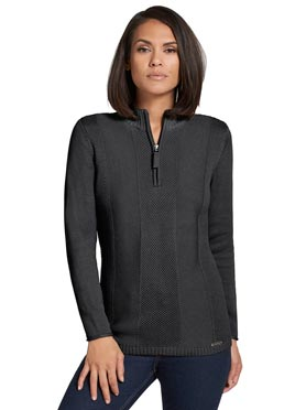Pull anthracite chiné