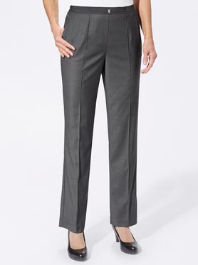 Pantalon anthracite chiné