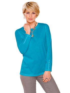 T-shirt turquoise