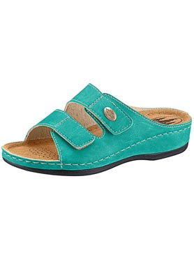 Mules turquoise