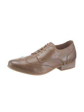 Chaussures à lacets taupe