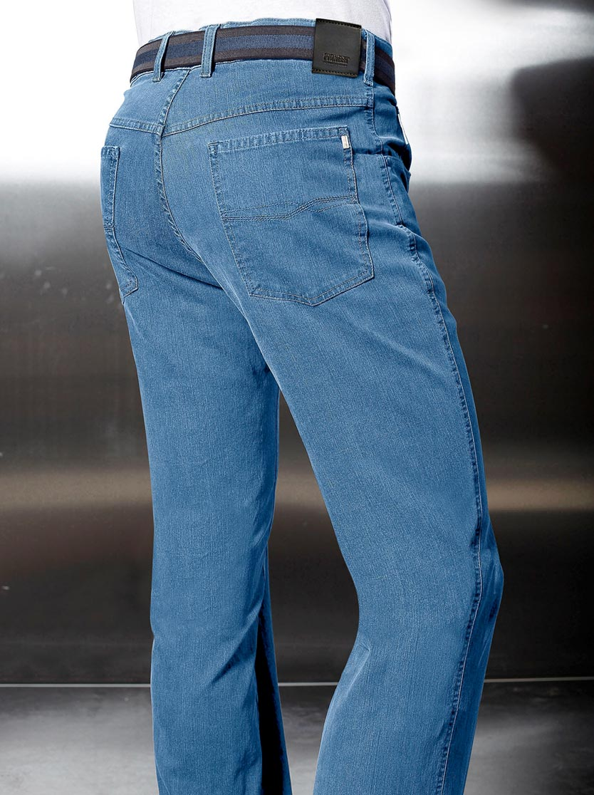 Jean homme pioneer 5 poches coupe classique