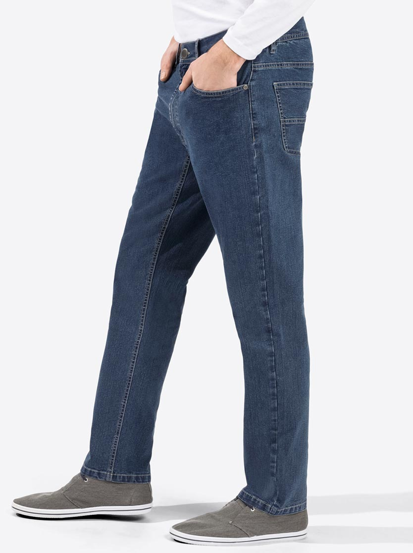 Jean hommes 5 poches coupe droite